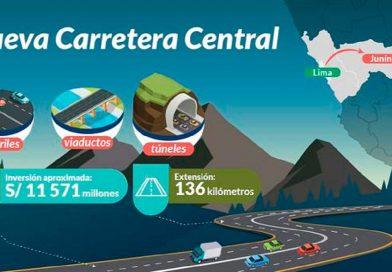 MTC coordina acciones sobre el proyecto de la Nueva Carretera Central