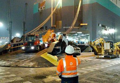 Casi 5 mil unidades de rodados llegan a Perú en menos de una semana en naves de Eukor y Wallenius Wilhelmsen Ocean agenciadas por Ian Taylor Perú